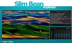 Slim Bean VlC Media Player Skin by KryptonSyt