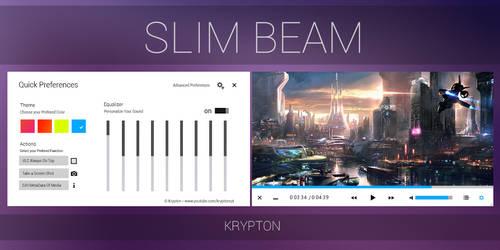 VLC - Slim Beam - White Skin