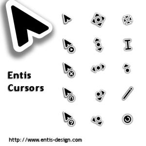 Entis Cursors by zhorak