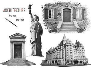 PS Brushes - Architecture by par-me