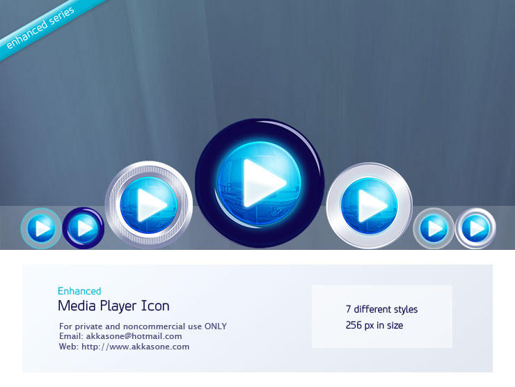 Media Player Icon - Enhanced by akkasone