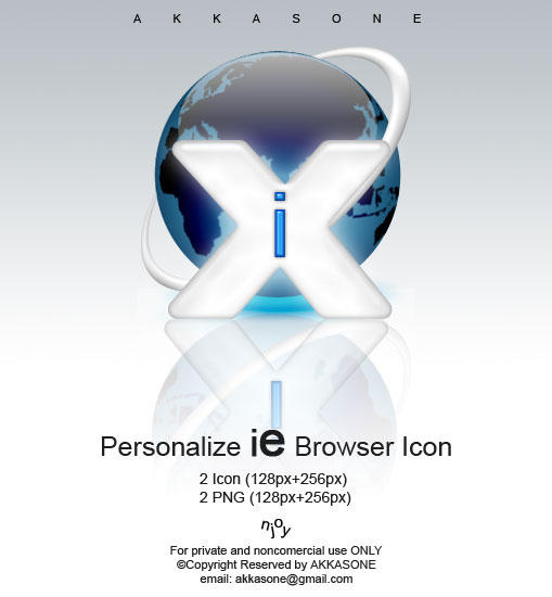 Internet Explorer Browser Icon by akkasone