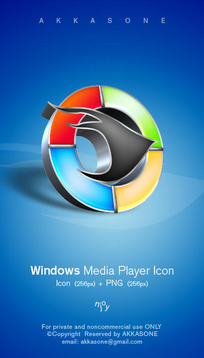 Windows Media Player Icon by akkasone
