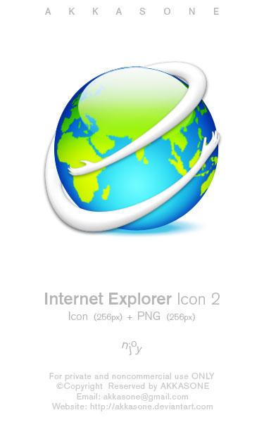 Internet Explorer Icon 2 by akkasone