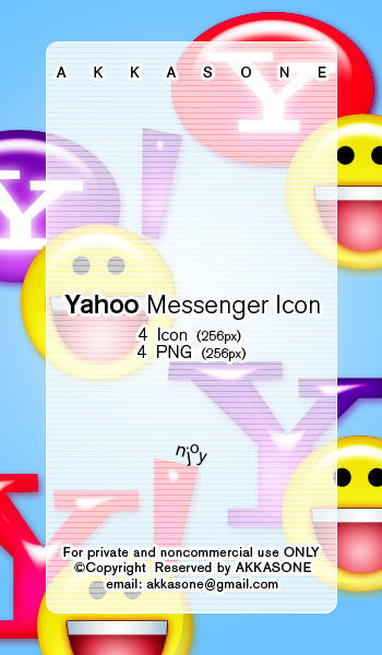 Yahoo Messenger Icon by akkasone