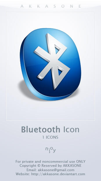 Bluetooth Icon by akkasone