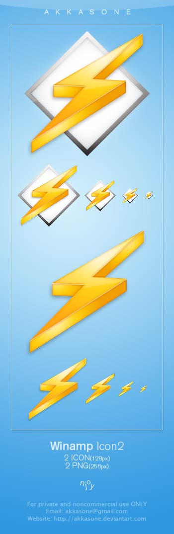 Winamp Icon 2 by akkasone
