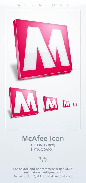 McAfee Icon by akkasone