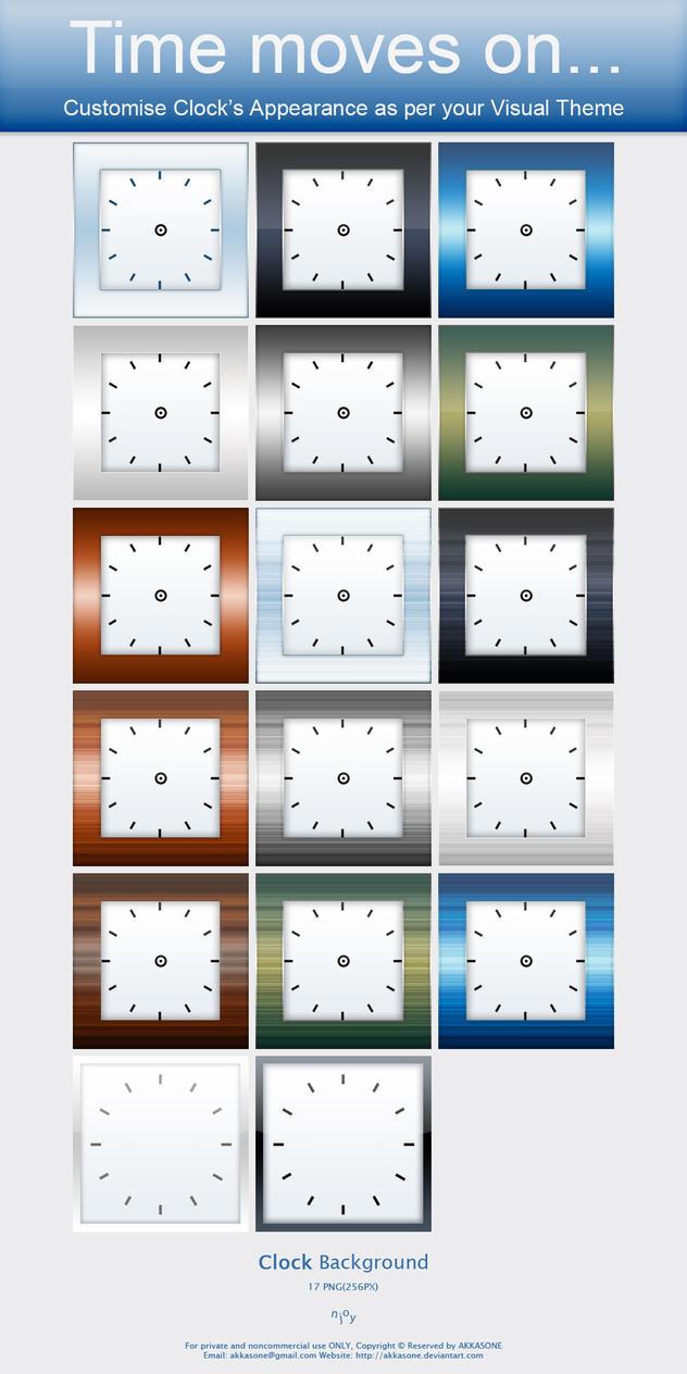 Clock Icon to Customise Clock by akkasone