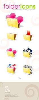 Folder Icon Pack by akkasone