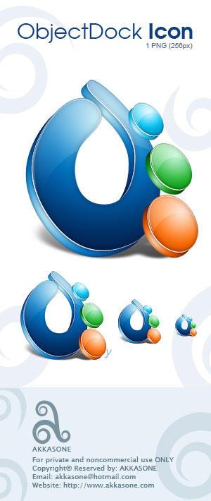 ObjectDock Icon by akkasone