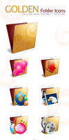 Golden Folder Icon Pack