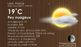 VCloudsWeather2 French by NickoLef
