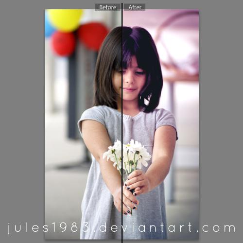 Violet Smoothie Preset - JPEGs