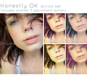 Honestly OK PS Action Set