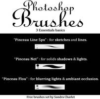 FREE - basics brushes 2017 by SandraCharlet