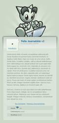 Fella Journalskin v3 by janvanlysebettens