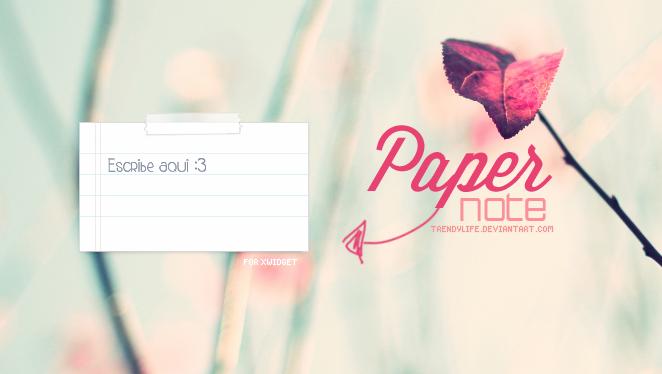 Paper Note TrendyLife~ by TrendyLife