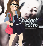 Student Retro Girl | TrendyLife