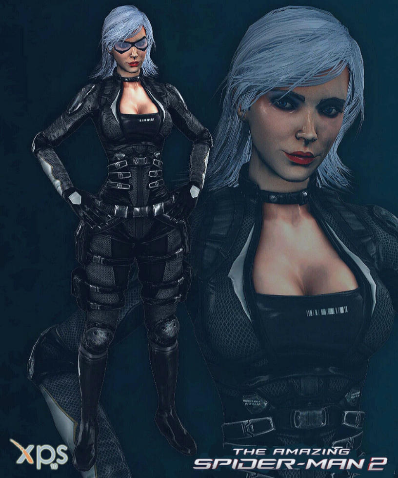 Black Cat The Amazing Spider Man  Game