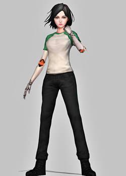 {XPS} Battle Angel Alita: The Game - Alita Tshirt