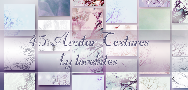 45 Avatar Textures Pack by lovewillbiteyou