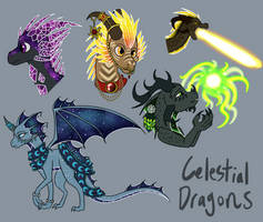 Celestial Dragons Trash by Herakidpatrol