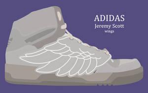 Adidas Jeremy Scott wings PSD