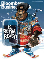 Is Russia Ready cover by Businessweek