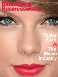 Taylor Swift cover gif by Businessweek