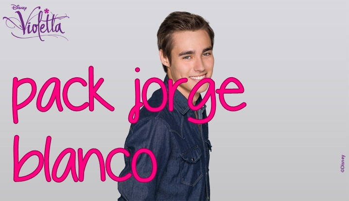 Pack Jorge Blanco (+PNG) by TutosGirlEditons