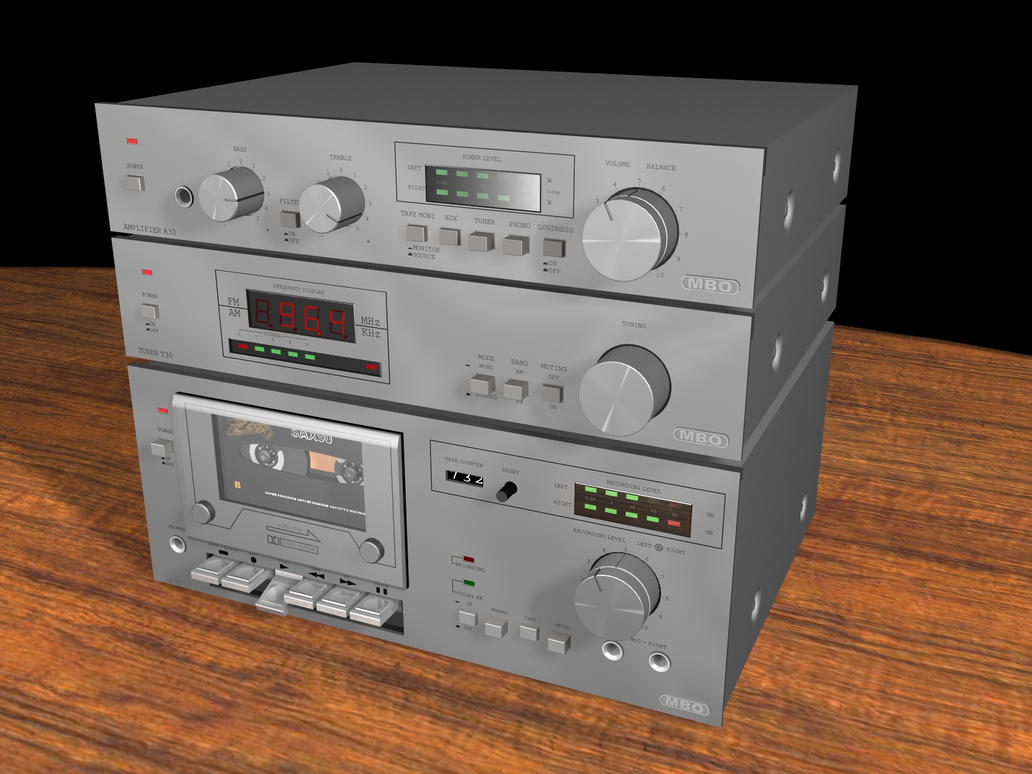 MBO hifi-equipment by dexx