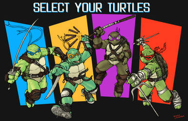 Select your Turtles by RamonVillalobos