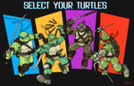 Select your Turtles