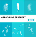 feather ai. brush set