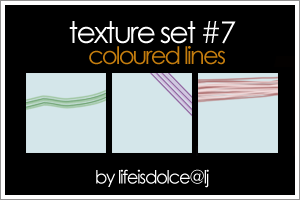 Textures o7 Coloured Lines by lifeisdolce