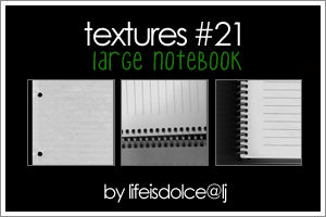 TEXTURES 21: LARGE NOTEBOOK