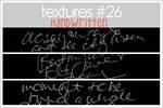 TEXTURES 26: HANDWRITTEN
