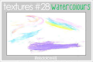 TEXTURES 28: WATERCOLOURS by lifeisdolce