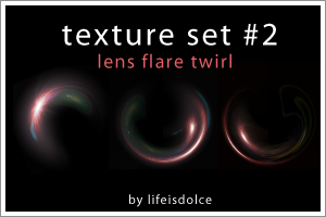 Textures Set 2 - Lens Flare by lifeisdolce