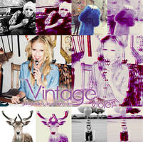vintage violet action by garagesalee