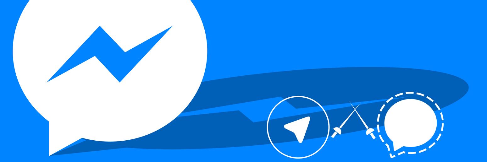 Messenger, Telegram, Signal by cmeeren