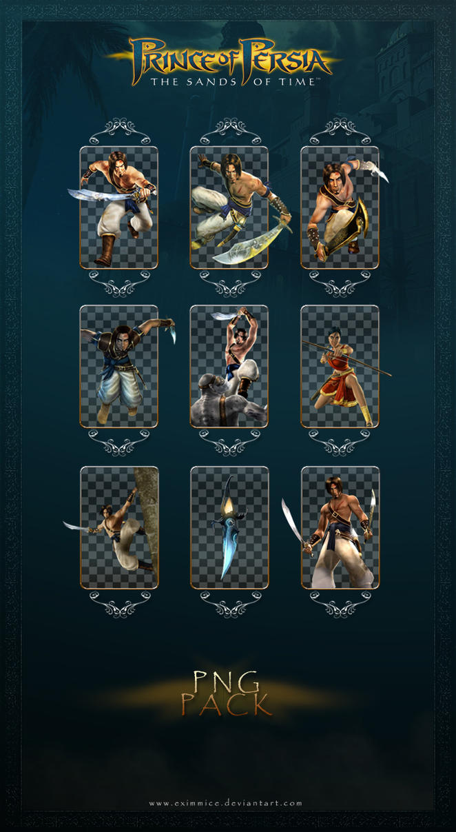 Prince of Persia The Sand Of Time PNG PACK by eximmice on ...