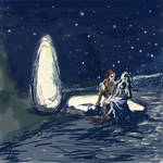 Kvothe and Denna: Sea of Stars by Beileag
