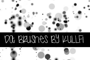 Dot Brushes by kullfi