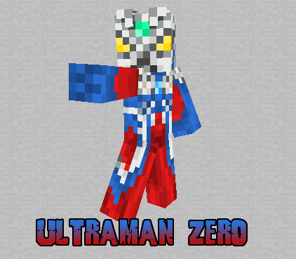 Minecraft Skin Ultraman Zero V By SpaceG On DeviantArt - Skins para minecraft pe yugioh