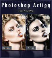 Photoshop Action Ver. 1.8 by General1991