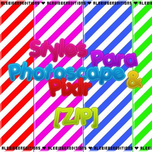 descargar letras para photoscape gratis