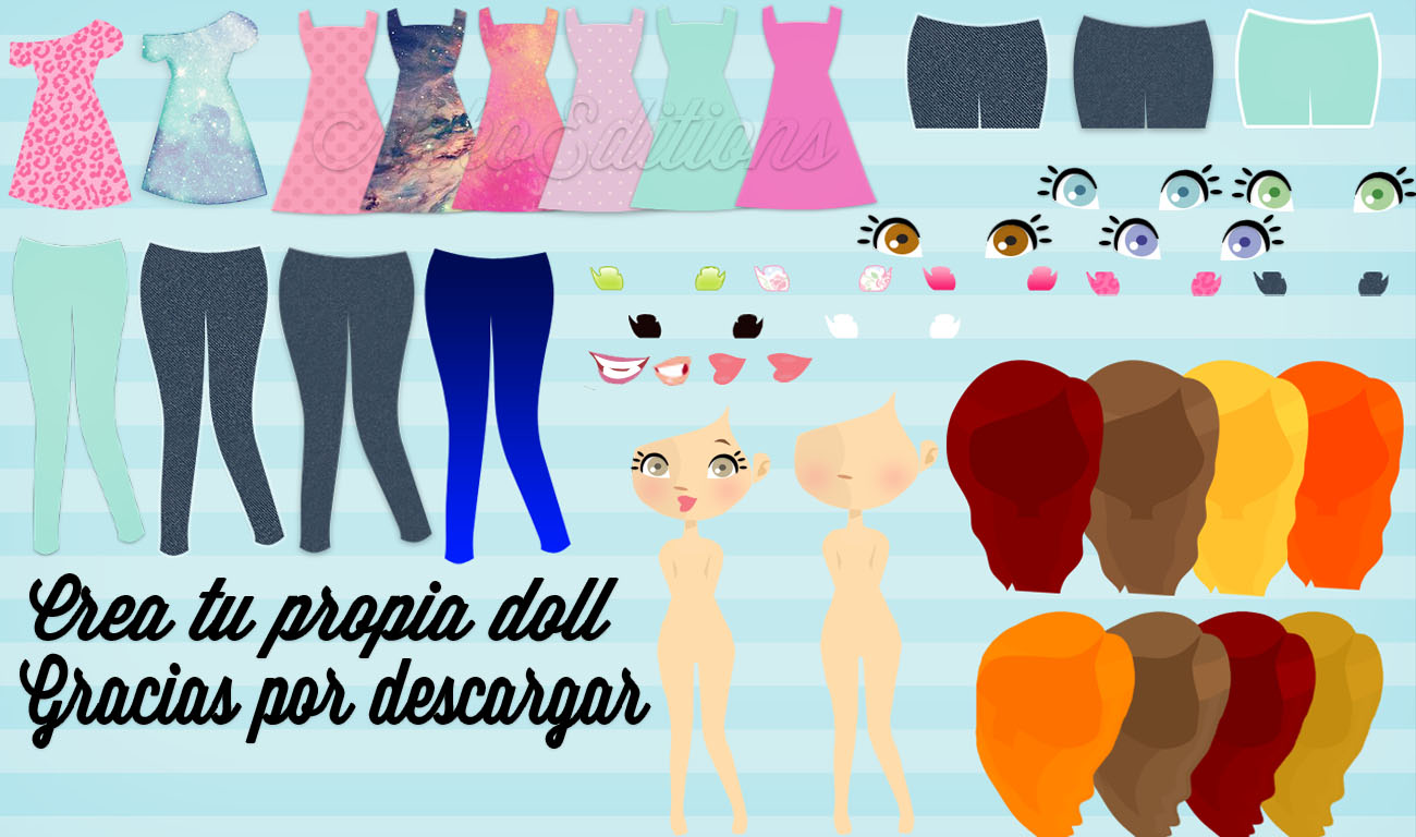 Png Para Dolls by NekoEditions