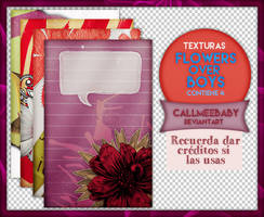 Texturas Flowers over boys by CallMeeBaby